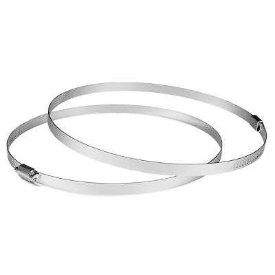Heavy Duty Stainless Steel Clamps