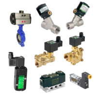 Featuring a wide range of solenoid, steam and pressure operated valves.