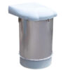 WAM Stainless Steel Silo Top